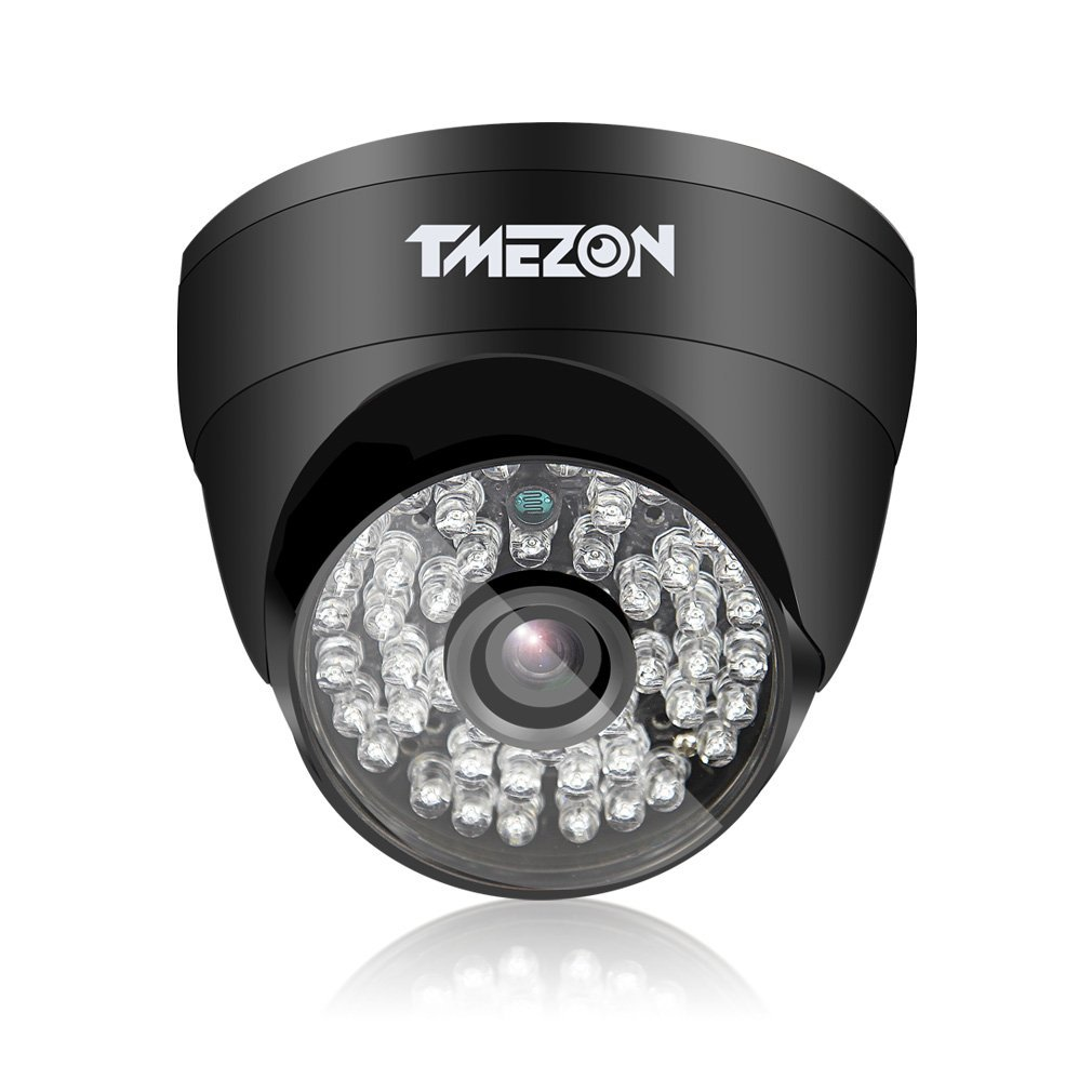 TMEZON AHD Camera 1080P 4 in 1(AHD/CVI/TVI/960H) Security Camera 2.0 Megapixel Night Vision 3.6mm Outdoor 48 IR LEDs Day Night Vision with OSD Menu
