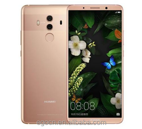 "Original HuaWei Mate 10 Pro 4G LTE Mobile <strong>Phone</strong> Kirin 970 <strong>Android</strong> 8.0 6.0"" 2160*1080 6GB RAM 64 ROM 20.0MP NFC Fingerprint"