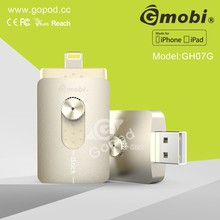 Gmobi I-flash Driver Hd U-disk Memory iStick Card Reader Data USB 2.0 Compatibility For iPhone 6/iPhone 6 Plu /iPhone 5-H17G