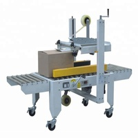 Auto packing production line carton/box/case sealing machine