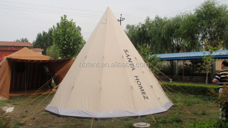 Toile de coton de tipi en plein air tente tipi acheter for Tente tipi exterieur