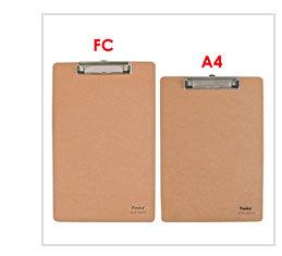 Mdf A4/fc Clip Board/stationery Writing Board