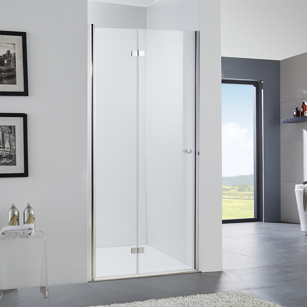 Single person shower stall with tub combo bathroom shower