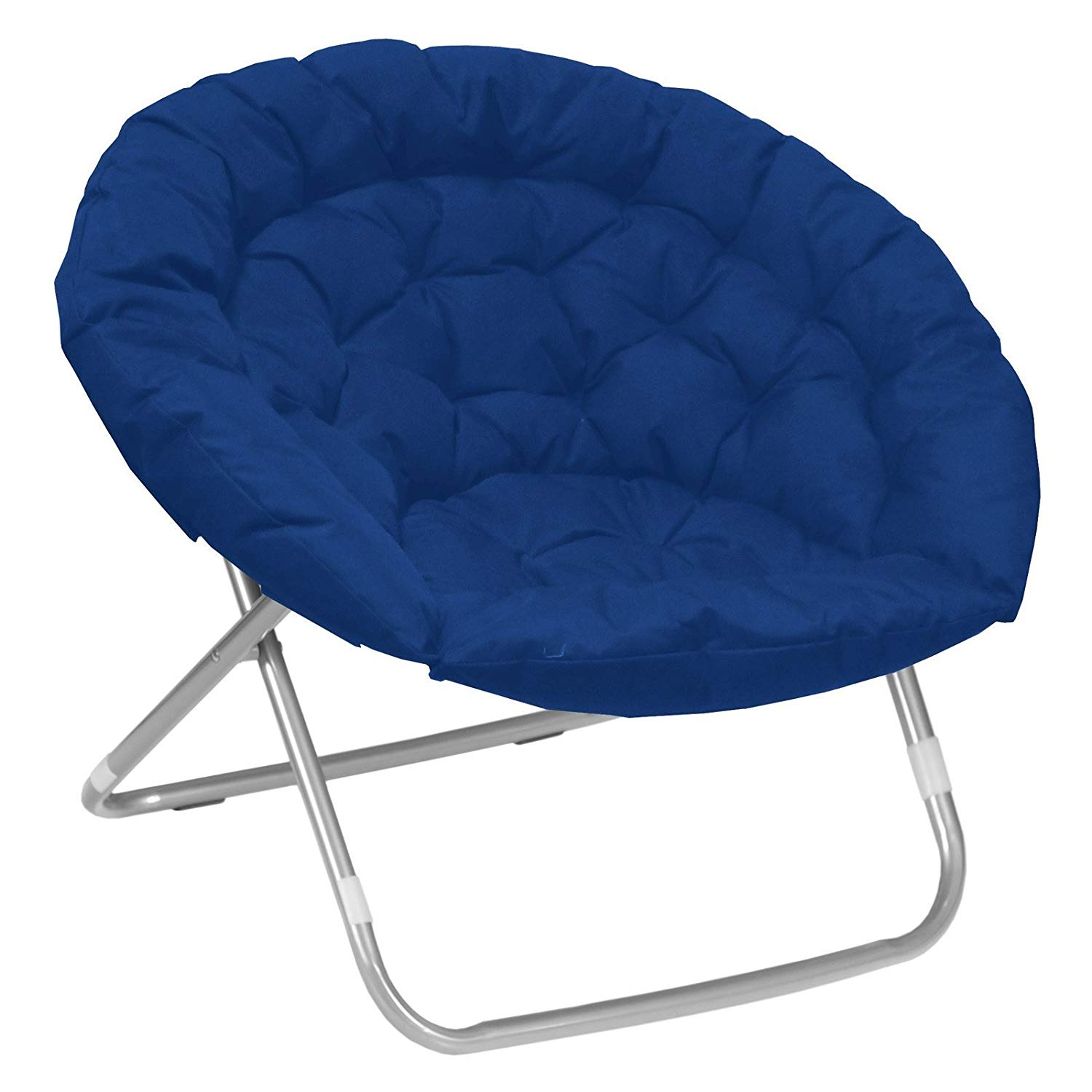Oversized Moon Saucer Chairs For Kids Teens Adults Large Folding Padded  Portable Gaming Chair Bundle Includes