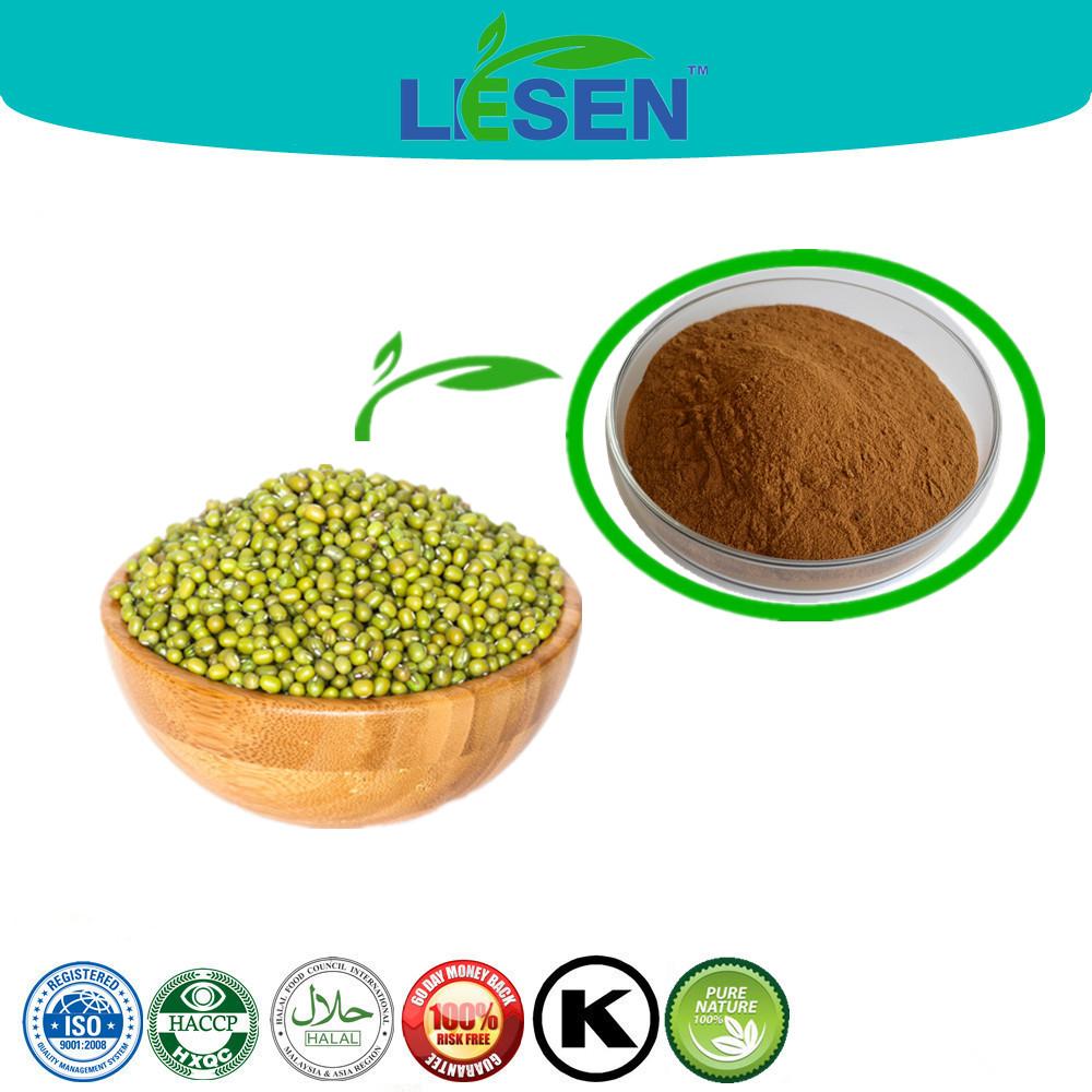 100% Pure Natural Phaseolus Radiatus P.e. Powder,Green Bean Flour