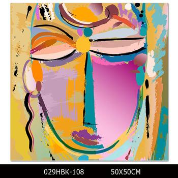 Artiste Qualifié Conçu Abstrait Portrait