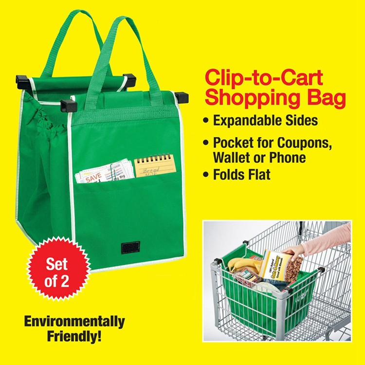 Reusable Grocery Bags Insulated Rolling Ping Cart Bag For Whole
