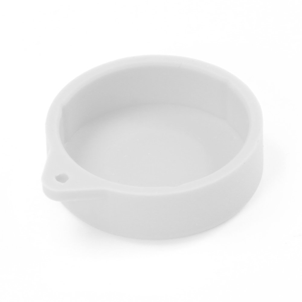 Fotga Silicone Protective Lens Cover Snap-on Cap for Xiaomi Yi Gopro Hero 3+ 4 Camera (White)