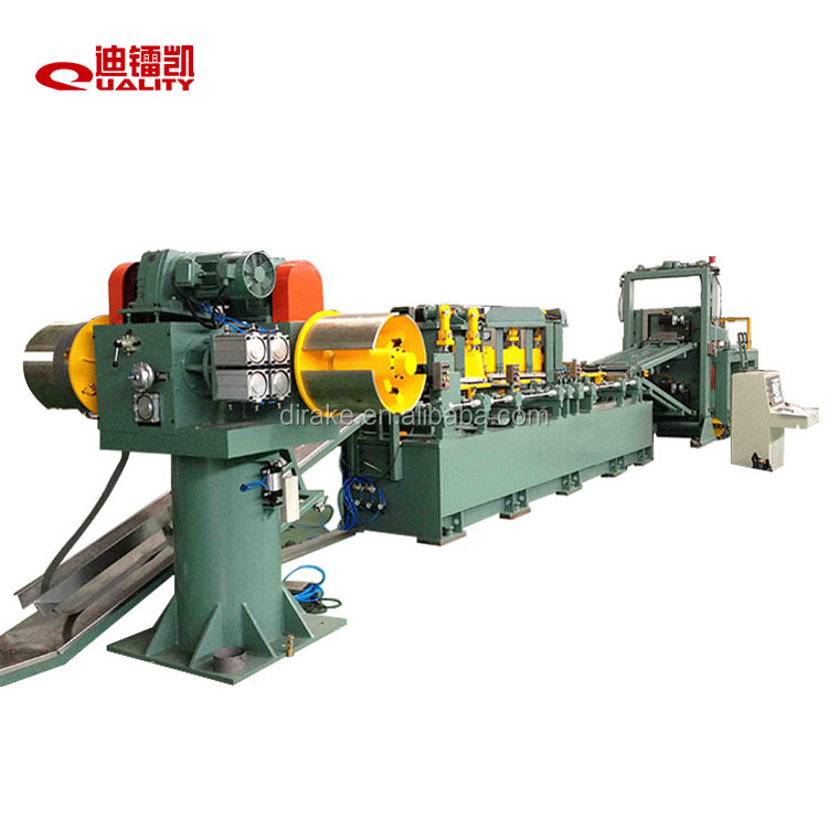 transformer core cutting machine to make core cut to length line