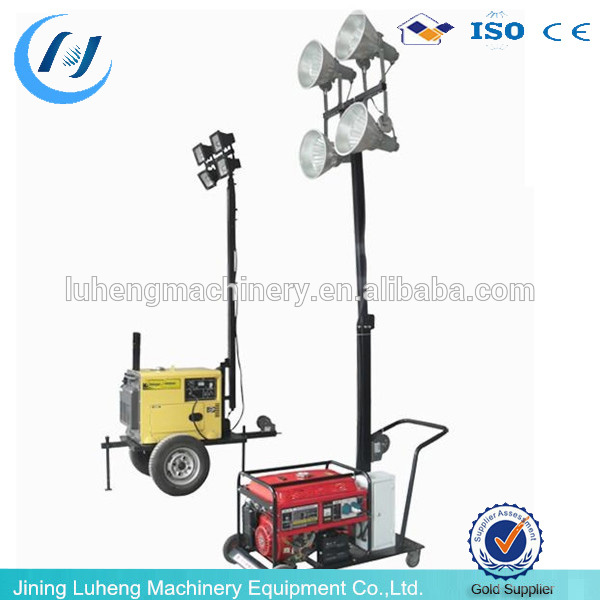 High Quality Outdoor construction light tower generator, used light tower, fire truck light tower Manufacturer - LUHENG