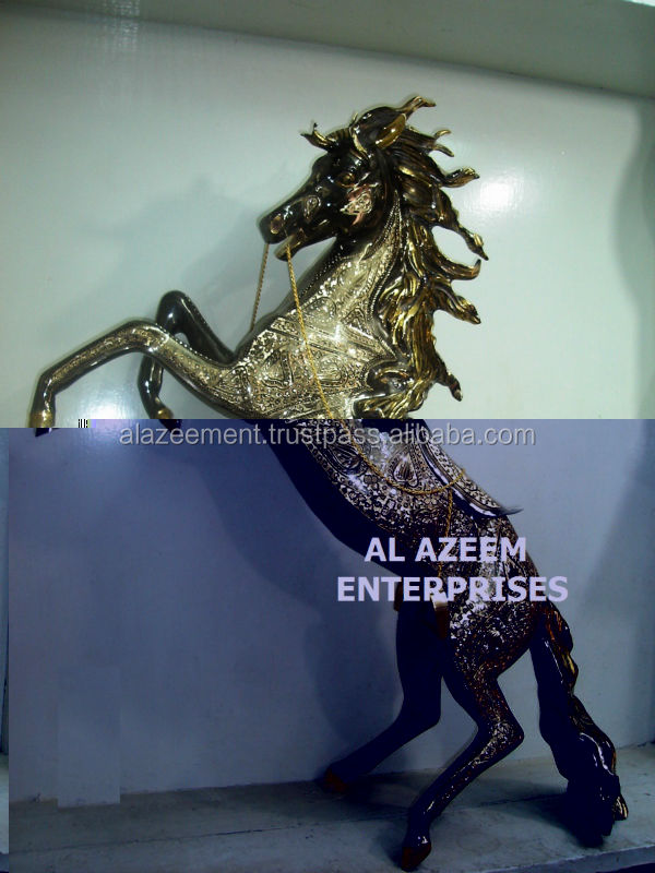 Beautiful Flying Horse Brass Made Crafts Pakistan For Home Office Decor & Gift / Brass handicrafts / Best Gift