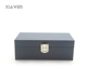 big PU leather surface lock catch MDF wood sunglasses box