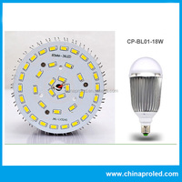Europe quality decorative led light bulb 18w dimmable and OEM available