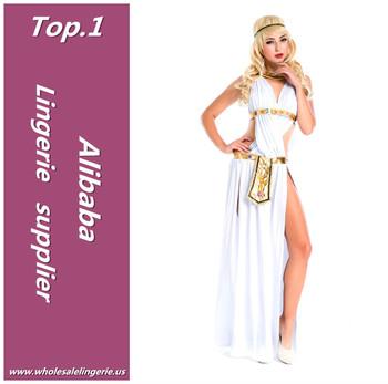 Weiß Sexy Griechische Göttin Kleid Prinzessin Tiana Kostüm Für ...
