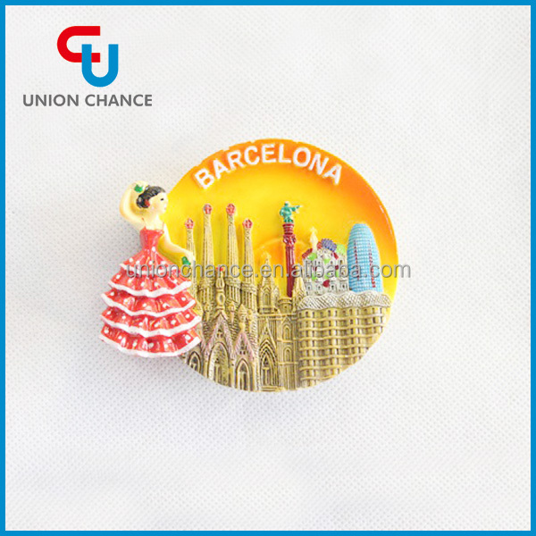 Tourist Souvenir Resin Fridge Magnet
