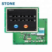 8 pollice 1024x768 <span class=keywords><strong>LCD</strong></span> HMI Porta UART TFT <span class=keywords><strong>LCD</strong></span> Controllato Da Qualsiasi MCU Touch Panel Pc