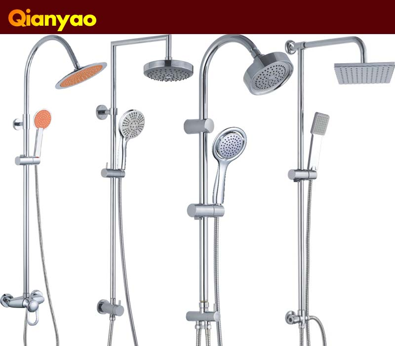 Qianyao Height Chrome Stainless Steel Bathroom Faucet