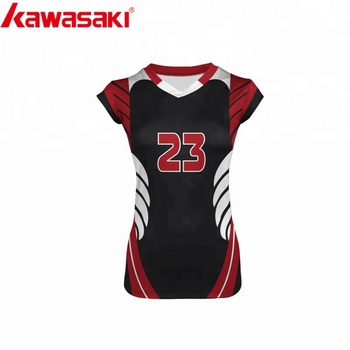 Black colors sublimation latest design your own volleyball jersey. View  larger image e1c4290fe