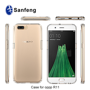 new style f6027 f85f0 Crystal Clear Tpu Bumper Mobile Phone Accessories Back Cover Case For Oppo  R11 - Buy Case For Oppo R11,Cover Case For Oppo R11,Mobile Phone ...