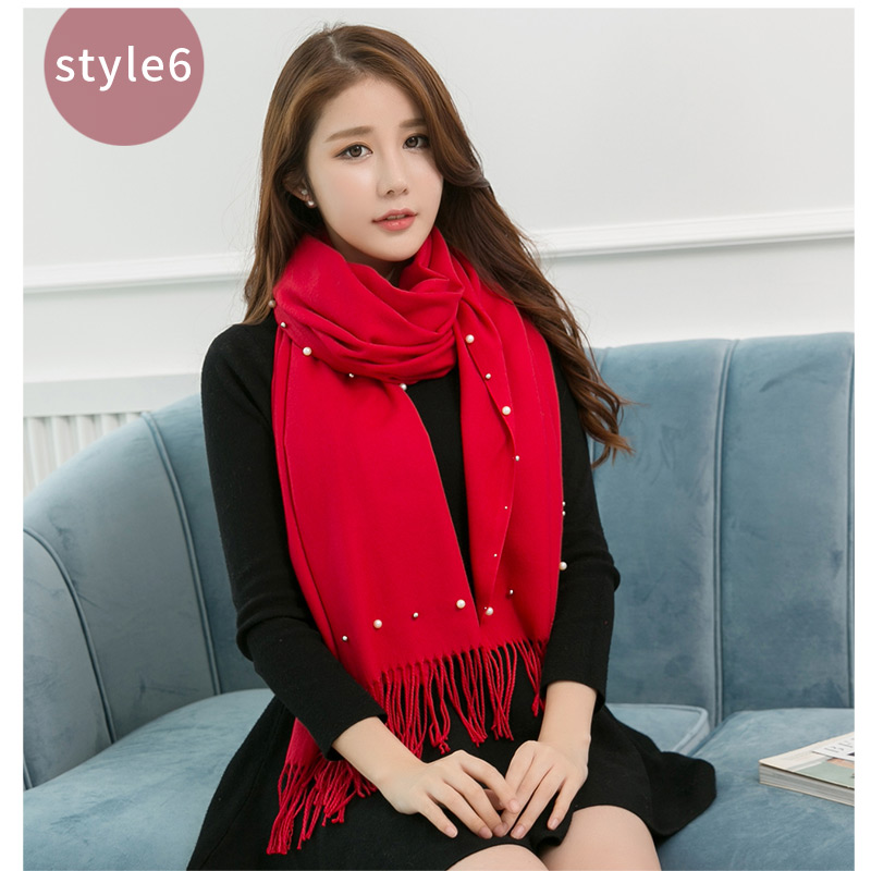 New promotional fashion pattern ladies winter 30%vicose and 70%polyester pashmina scarf