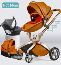 Hot Mom <span class=keywords><strong>Baby</strong></span> <span class=keywords><strong>Kinderwagen</strong></span> 3 in 1 Travel System <span class=keywords><strong>Kinderwagen</strong></span> Zubehör Braun