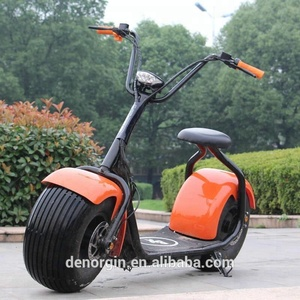 EU standard eec two wheel 1000w/1500w electric scooter fat tire citycoco scooter 2019 adult mobility electric scooter parts