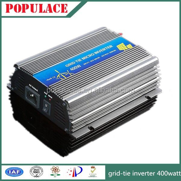 single phase micro grid sine inverter 400w with solar panel system