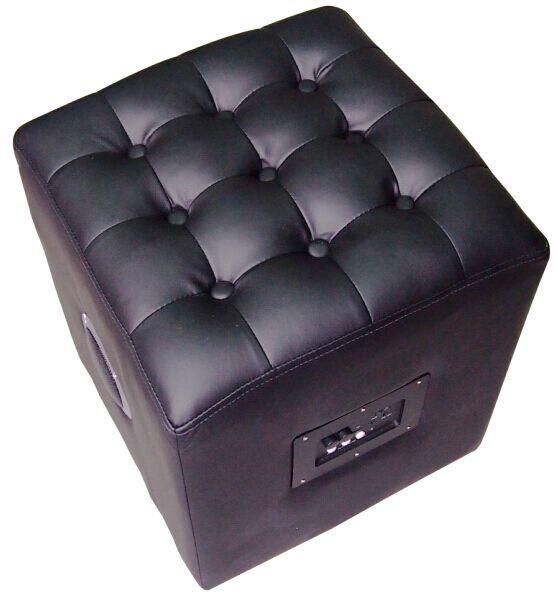 2015 Hot Sale Strong Bass Furniture Bluetooth Ottoman Speaker
