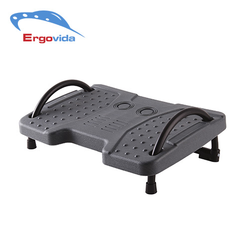 Ergonomic Office Home Height Adjustable Plastic Footrest