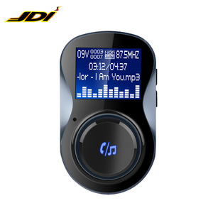 JDI-BC30 Transmitter fm car stereo bluetooth multi-function mp3 player with 2 USB port for charging