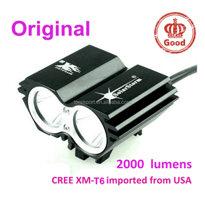 2000 lumen led CREE XM-T6 solarstorm x2 bicycle bike front light