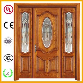 Luxury Style Good Price Kerala Front Door Wooden Double Main Designs