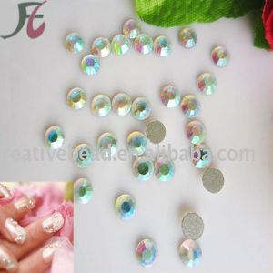 China crystal color Non hot fix imitated Czech rhinestone