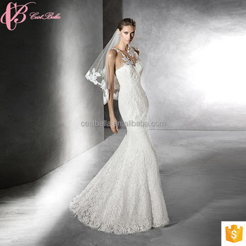 New Style Bohemian Chiffon China Mermaid Long Wedding Dress for Party