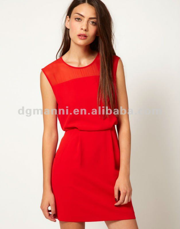 Clothing Manufacturers Overseas Cheap Red Party Dresses For Women ...