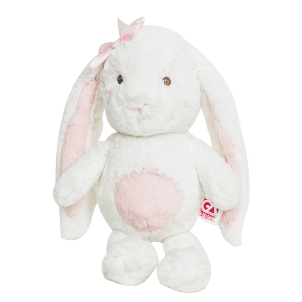kids lovlely fluffy stuffed christmas decoration bunny soft toy <strong>rabbit</strong>