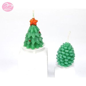 New hot fashion promotional christmas tree taper candles
