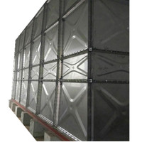 Stainless steel 304 pressed panels bolted assembled water tank for drinking water storage