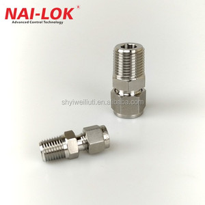 Stainless Steel 316L union male and female connector tube connector