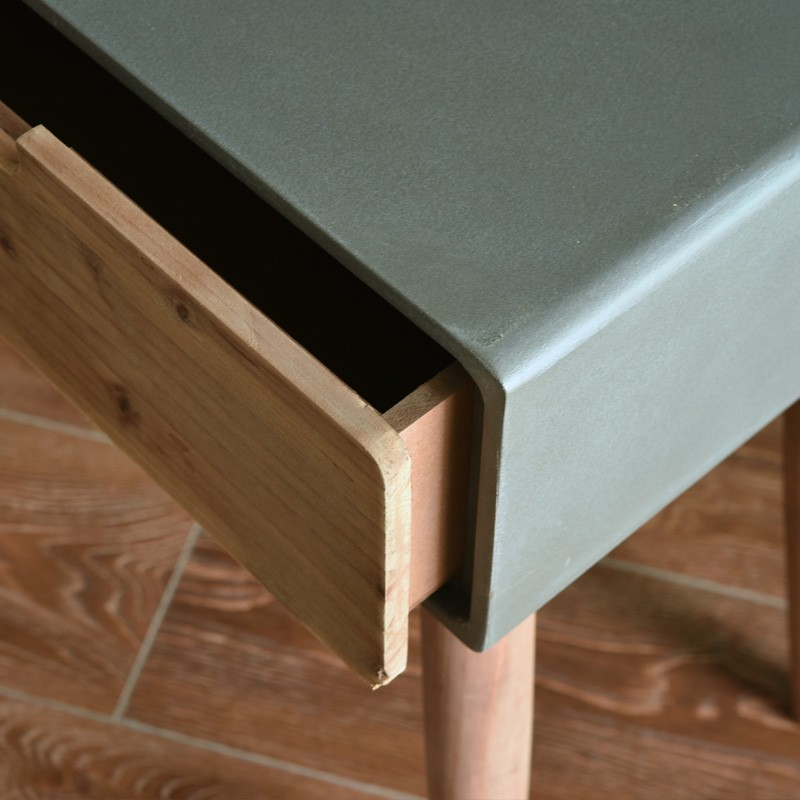 Minimalist Loft Bedside Table Night Stand End Table