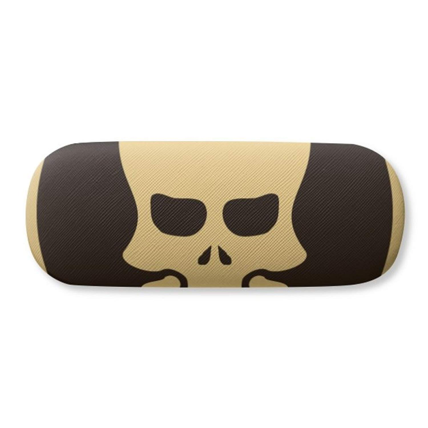 d4f9497a4032 Get Quotations · Happy Halloween Hollowed Skull Glasses Case Eyeglasses  Clam Shell Holder Storage Box