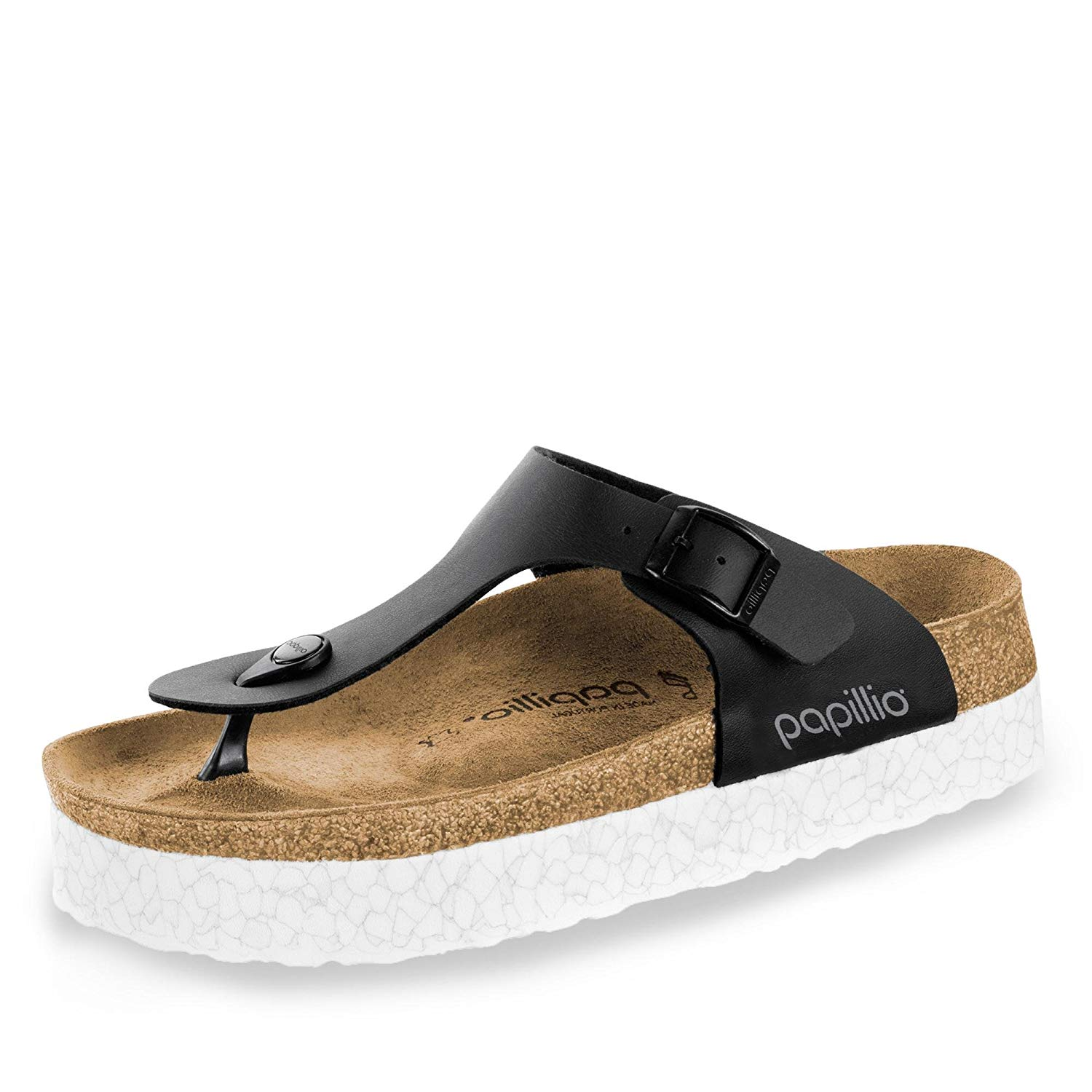 17e5548c32 Get Quotations · Papillio Gizeh Birko-Flor Monochrome Marble - The Shoe for  Women, Made from Birko