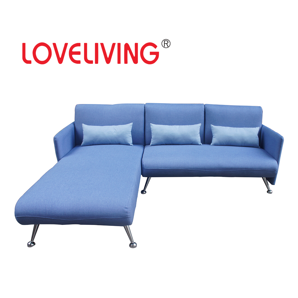 2017 New Design Colourful Fribric Corner Sofa
