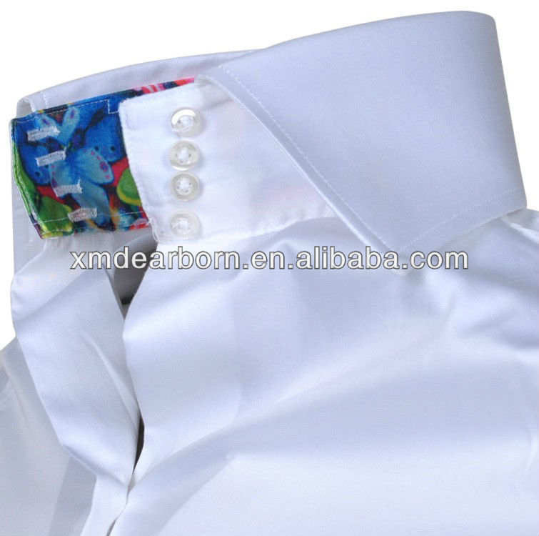 Super Witte Dames Blouse Hoge Kraag - Buy Product on Alibaba.com ZJ41