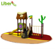 Hot Sale Kids Plastic Games High Quality Plastic Slide Outdoor Playground For Amusement Park