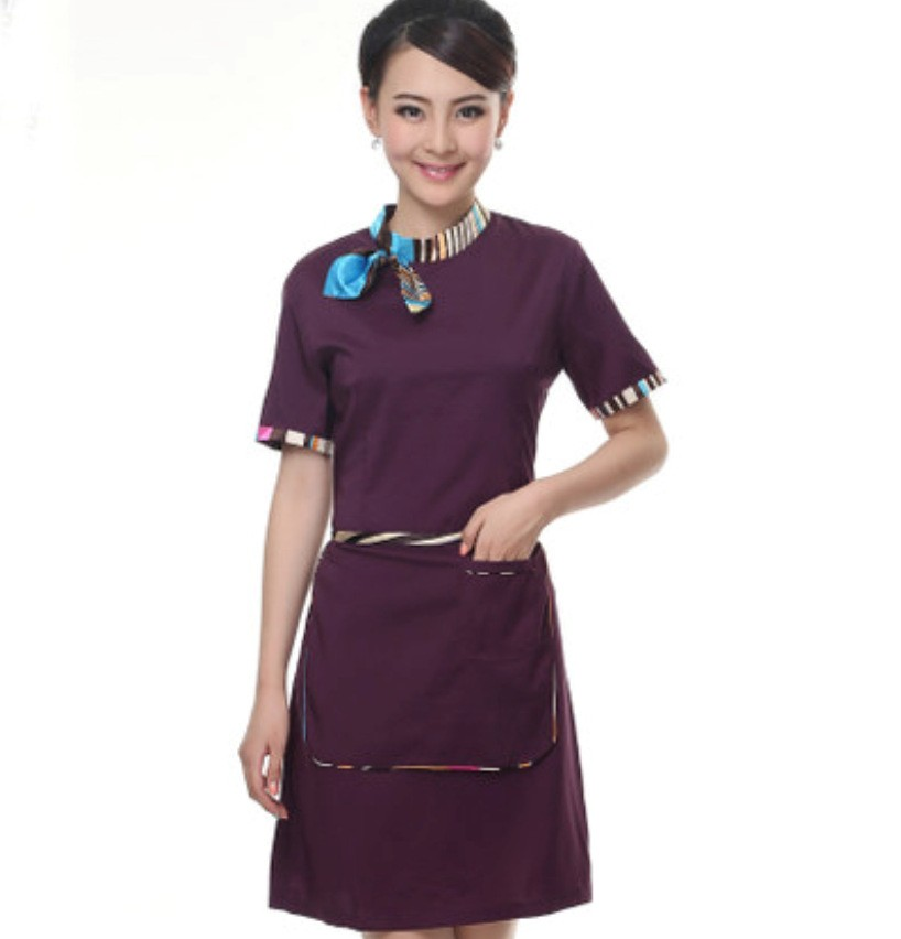 Fashionable custom hotel uniform design workwear high for Hotel design jersey