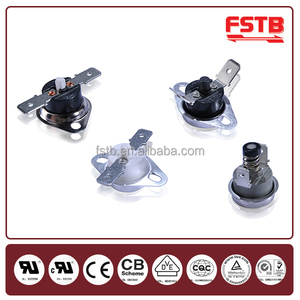 FSTB Wholesale Electric Water Heater bimetal disc thermostat N/C KSD301 Thermostat 250V 10A