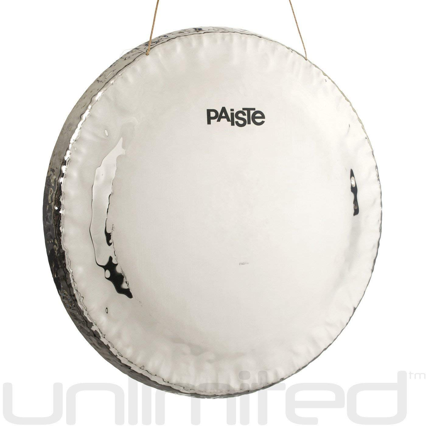 Paiste Symphonic Gong on Round Orchestra Stand with Mallet Combos