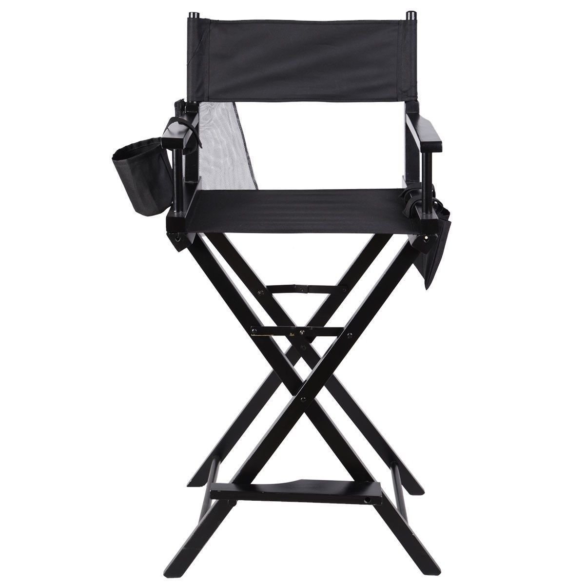 Heaven Tvcz Artist Directors Chair Wood Makeup Professional Black New Foldable Light Weight For Beauty Makeup Artists
