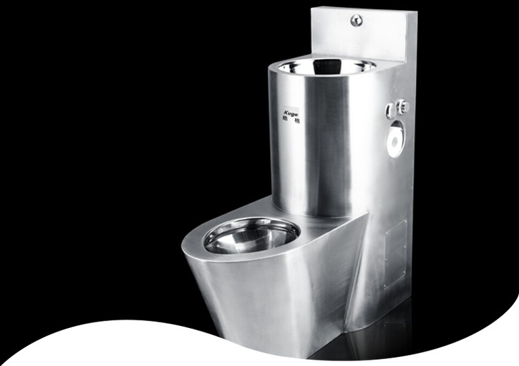 Custom Made Spray Nozzle Sink Toilet With Bidet Integrated